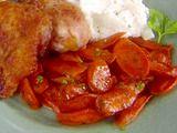 Glazed carrots option #1