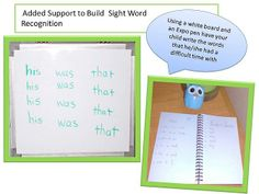How to Teach Your Child Sight Words