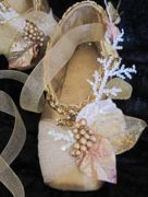 Decorated pointe shoes : Holiday Season