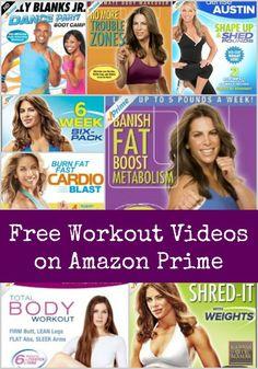 Free Workout Videos On Amazon Prime