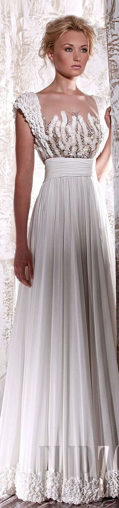Elegant fashion and luxury glamour - chic lady in elegant white evening gown - dress to impress - celebrate and win her heart and love with #thejewelryhut fashion designer color gemstone jewelry gift of love wedding dressses, 2012 bride, evening gowns, bridesmaid shoes, tony ward, gown dresses, bride dresses, toni ward, white gowns