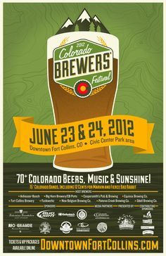 Colorado Brewers' Festival Poster