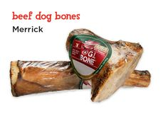 Proudly made in the U.S.A., these tasty, all-natural Merrick beef bones will leave your dog begging for more.
