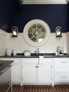 Nautical flair by Brooks and Falotico Associates; Fairfield County Architects