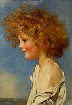 Portrait of a Boy. Swynnerton Annie Louisa