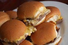 OMG White Castle Sliders!!!!!!! Need to try at our next party!