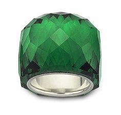 Swarovski Nirvana Emerald Ring