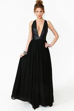 Shadowplay Maxi dress -Nasty Gal -$88