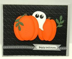Stampin' Up! swap card - with a Halloween theme.