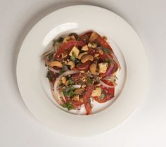 Tomato and Tofu Salad