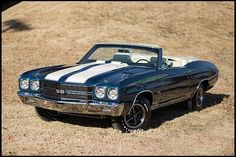 1970 Chevelle SS Convertible 454/360 HP, 4-Speed, Build Sheet