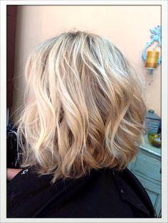 Medium length inverted bob haircut | Styles from Cool J's Salon