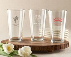 Personalized Pint Glass 16 oz.. Priced as low as $3.50.
