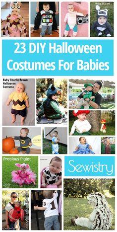 23 DIY Baby and Newborn Halloween Costumes