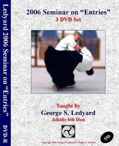 "This three DVD set is the second title in our ""Principles of Aiki Series"". Filmed at the Alamo City Aikikai in San Antonio, this 3 disc set contains both demonstration and lecture material on the principles involved in the various ""Entries"" in Aikido. It covers body mechanics, timing, perception, energetic and psychological aspects."