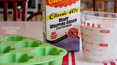 How to Freeze Heavy Whipping Cream - I always assumed you couldn't but you can! - One good thing By Jillee!