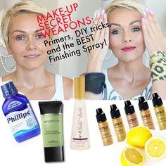MakeUp Artist Secrets: Tips, Tricks, DIY & Super Products