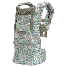 Ergobaby | Designer Collection Baby Carrier - Petunia Pickle Bottom `Peaceful Portofino`