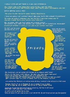 Friends - TV show quote posters