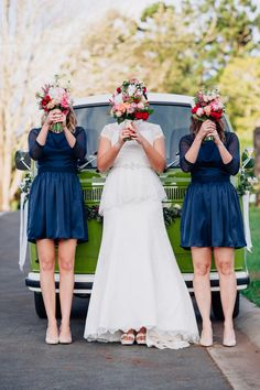 cute bridesmaid portrait, photo by Jess Jackson http://ruffledblog.com/intimate-queensland-wedding #wedding #bridesmaids