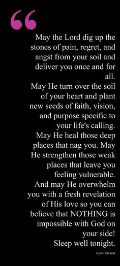 End of Day Blessing... I need to read this every night for a few weeks ... God is my powerful refuge in the storms