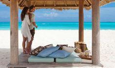 Emerald Bay Beach in the Bahamas
