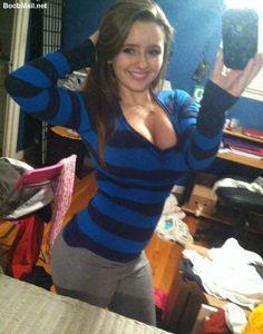 Do Striped Tops Make Boobs Look Bigger?