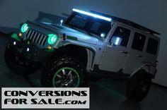 2014 Jeep Wrangler Project Green Shadow Kevlar Coated Custom
