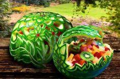 watermelon art - mm mmm