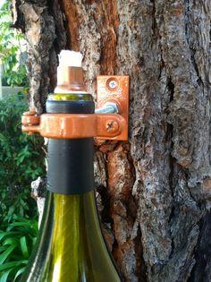WHOA! Wine Bottle Tiki Torch Lamp, Hurricane Lantern, Outdoor Lighting, Oil Lamp, Garden or Deck Decor