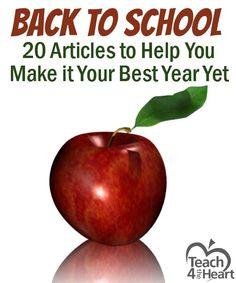 Back-to-School: 20 Articles to Help Teachers Prepare