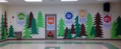 Boosterthon Camp High Five @ Bryant Elementary, Tampa FL 10/2013 Multipurpose Room decor