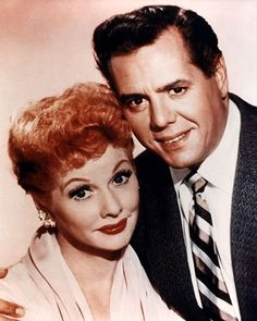 Lucille Ball (August 6, 1911 – April 26, 1989) and Desi Arnaz (March 2, 1917 – December 2, 1986)