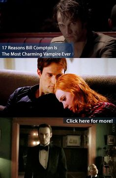 He'll always have a place in our hearts (and beds). See why Bill Compton Is The Most Charming Vampire Ever on BuzzFeed!