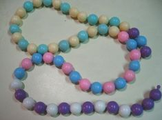 What lucky young girl growing up in the 60's didn't have Pop Beads?  These were fun!