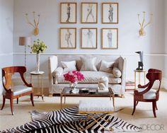 LookBook | Traditional Living Room | ELLE Decor