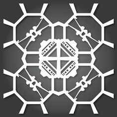 New batch of Star Wars snowflakes - more at the link, all with free template downloads