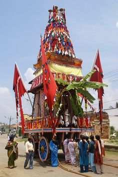 Temple Wagon - Mysore