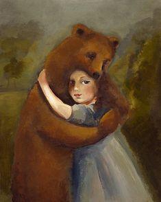 The Bear Archival Print via Etsy
