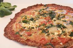 MUSHROOM vegetarian no carb pizza crust.  Adds meaty, earthy flavor to veg pizza.    ....http://yourlighterside.com/low-carb-pizza-recipes/