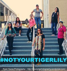 #NotYourTigerLily - hashtag created to speak out against stereotypes of Native Americans and the casting of white actors in Native American roles in Hollywood
