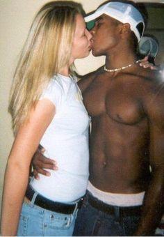 black men, color togeth, coupl board, white women, mix color, interraci coupl