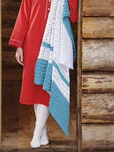 Spud & Chloë — Patterns » Cabin Fever Blanket - Crochet - NEW!