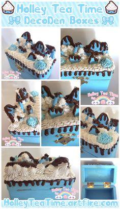 Kawaii Decoden Box - chocolate by miemie-chan3.deviantart.com on @deviantART