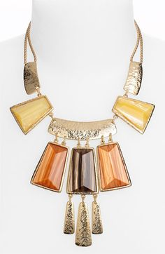 Nordstrom 'Tribal Deluxe' Frontal Statement Necklace