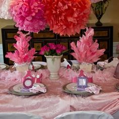 Fancy Nancy Soiree birthday party