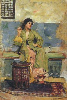 An Eastern Reminiscence -   1874 - John William Waterhouse