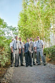 love the shades, gentlemen! #karlstrauss Brewery Gardens wedding.