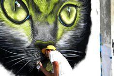 Green Eyes street art (no credits)