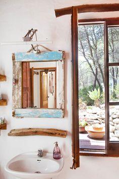 idb #natural #white #home #interior bathroom Ibiza